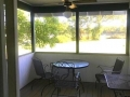 Enclosed Porch w/ composite flooring