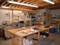Work Area in Basement